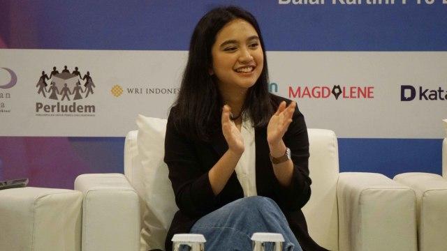 Rachel Amanda di Balai Kartini