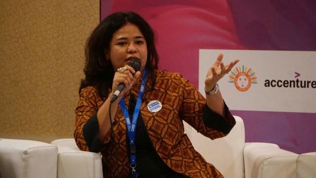 Nalza Mariza di Balai Kartini