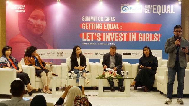 Acara summit on girls di Balai Kartini, Jakarta