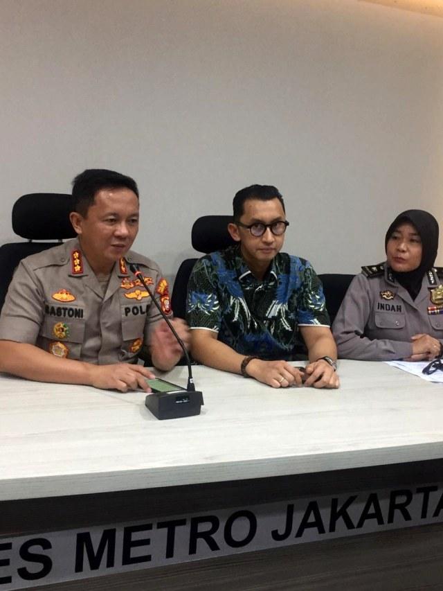 Konpers Kapolres Metro Jakarta Selatan, persekusi Banser NU