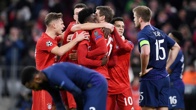 Bayern Muenchen vs Tottenham Hotspur
