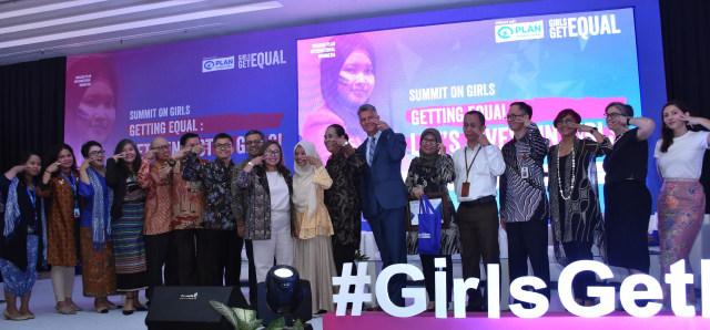 Acara Summit on Girls di Balai Kartini