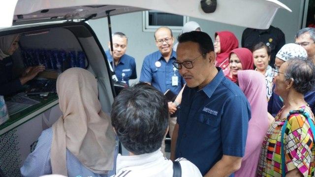 Direktur Utama BPJS Kesehatan Fachmi Idris