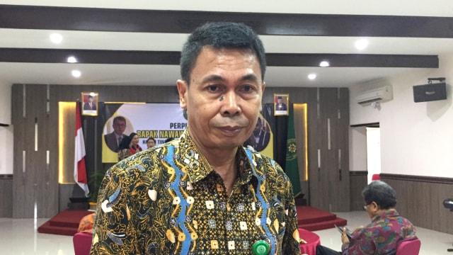 Nawawi Pomolango perpisahan di PT Denpasar