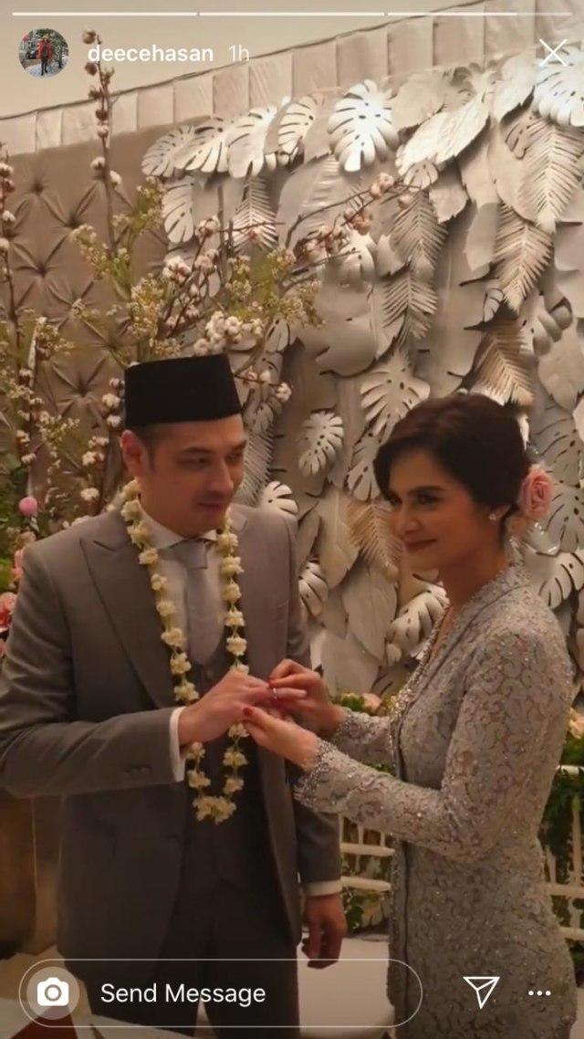 PTR, Cut Tari resmi menikah dengan Richard Kevin