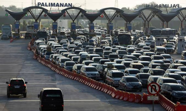 Strategi Jasa Marga Antisipasi Lonjakan Kendaraan di Tol Palikanci (1127146)