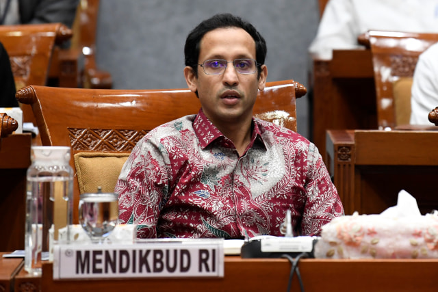 Menteri Pendidikan dan Kebudayaan Nadiem Makarim