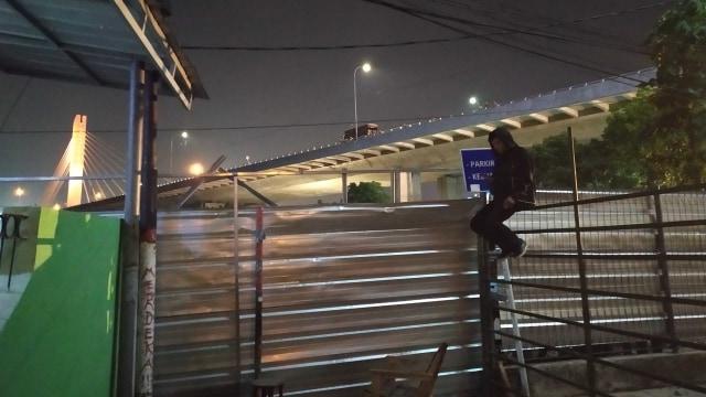 Warga terdampak penggusuran di Tamansari Bandung