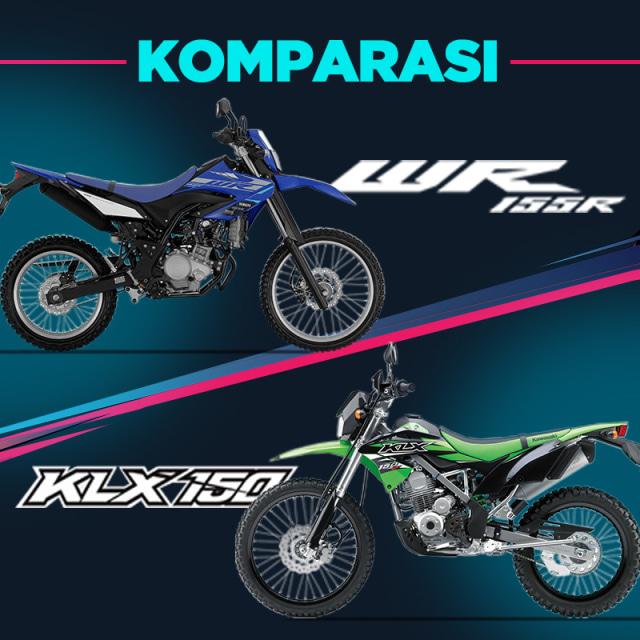 Komparasi Yamaha WR 155 R vs Kawasaki KLX 150 (743340)