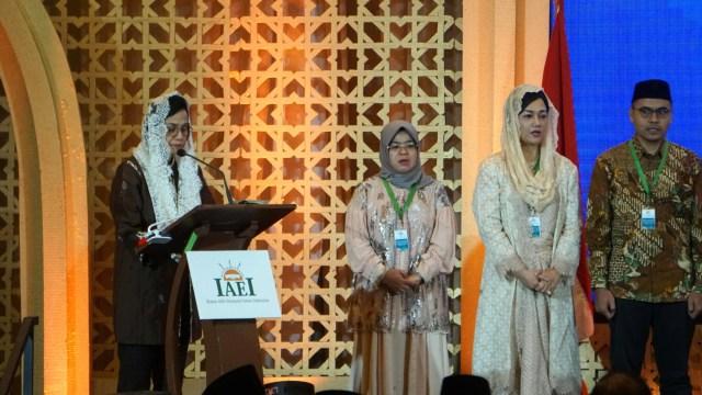 Sri Mulyani, Pelantikan Pengurus DPP IAEI