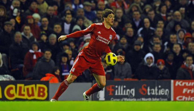 Fernando Torres di Liverpool