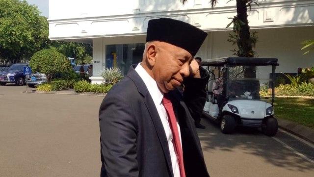 Arifin Panigoro di Istana Kepresidenan