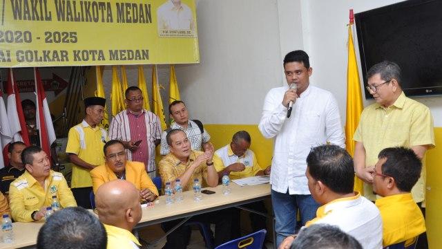 Bobby Nasution daftar cawalkot Medan ke DPD Golkar