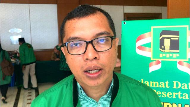 Ketua OC Pelaksanaan Mukernas PPP, Ahmad Baidowi