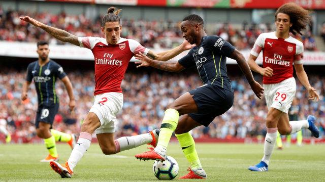 5 Fakta Jelang Laga Arsenal Vs Manchester City Di Liga Inggris 2019 20 Kumparan Com