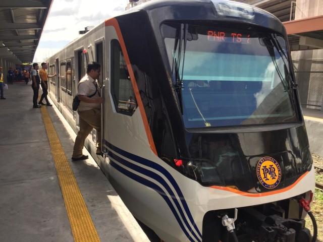kereta buatan PT INKA di Manila, Filipina