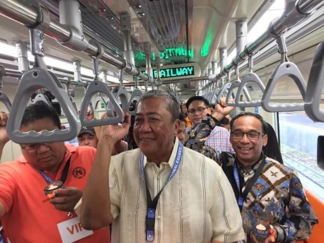 Kereta buatan INKA, Filipina