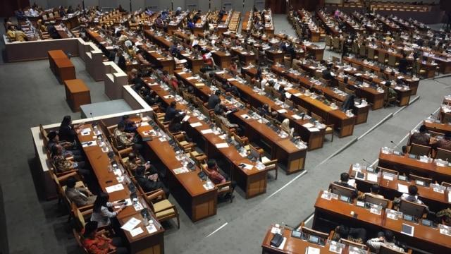 Rapat Paripurna penutupan masa sidang jelang Reses DPR