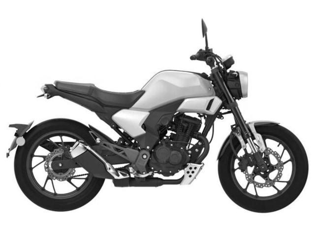 Gambar paten motor baru Honda