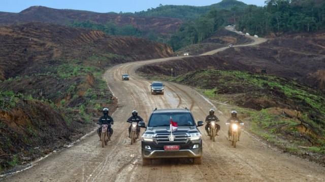 Mimpi Jokowi untuk Ibu Kota Baru: Mobil Elektrik dan Pakai Teknologi Otonom (133046)
