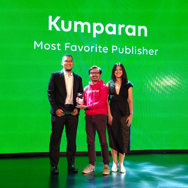 kumparan Raih Penghargaan Most Favorite Publisher dari LINE Indonesia (213578)