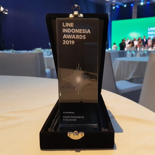 kumparan Raih Penghargaan Most Favorite Publisher dari LINE Indonesia (213579)