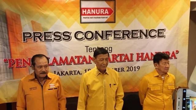 Hanura Respons Penyegelan Kantor di Cilangkap: Gedung Sudah Diserahkan Wiranto (216899)