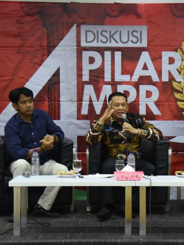 PTR, Bambang Soesatyo dalam 'Refleksi Akhir Tahun MPR RI'