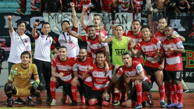 Madura United Tetap Tolak Kompetisi Liga 1 2020 Dilanjutkan (872791)