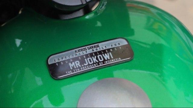 Chopper-Bobber Milik Jokowi