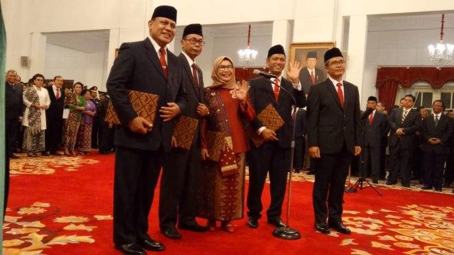 Jokowi Resmi Lantik Pimpinan KPK Periode 2019-2023 (307465)
