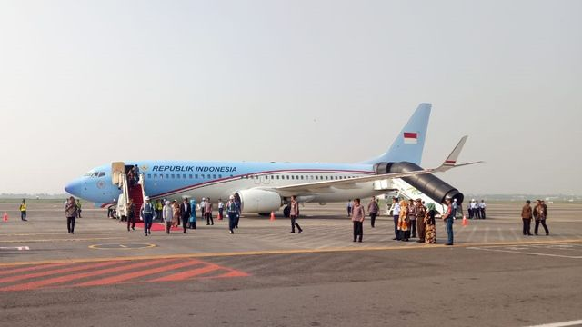 Fakta-fakta Pesawat Kepresidenan Dicat Merah Berbiaya Rp 2 M di Tengah Pandemi (115844)