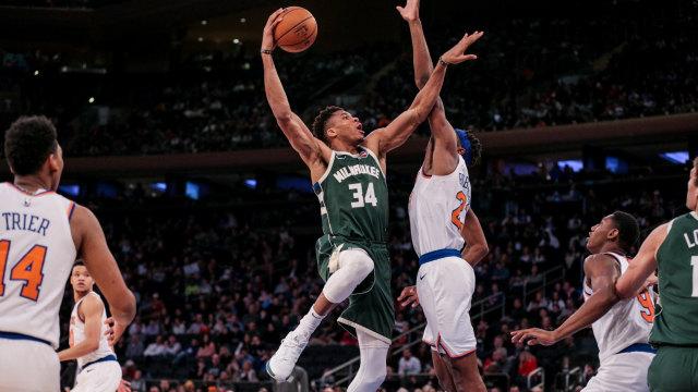 Bucks vs Knicks