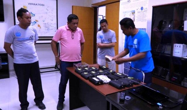 Apresiasi Ketua LGN Maritim CTI Terhadap Institusi Riset di Wakatobi (297376)