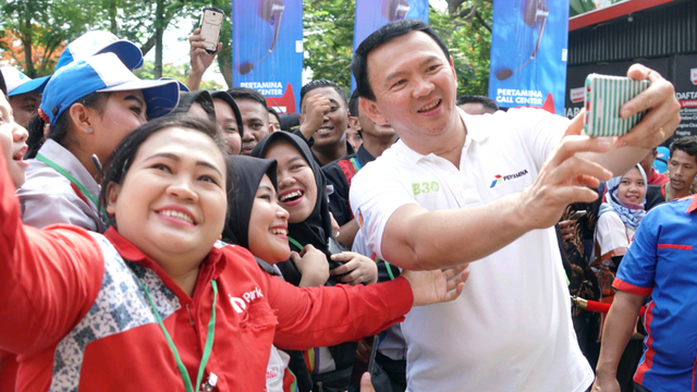 Ahok, peresmian Implementasi Program B30