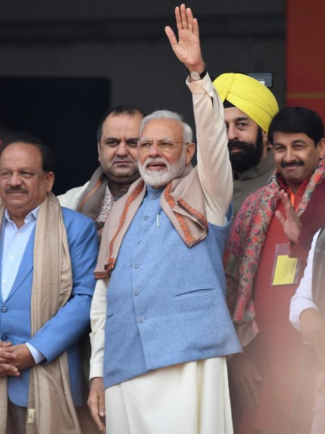 PM India Bantah RUU Kewarganegaraan Mendiskriminasi Muslim (3683)