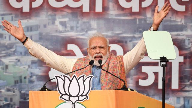 PM India Bantah RUU Kewarganegaraan Mendiskriminasi Muslim (3684)