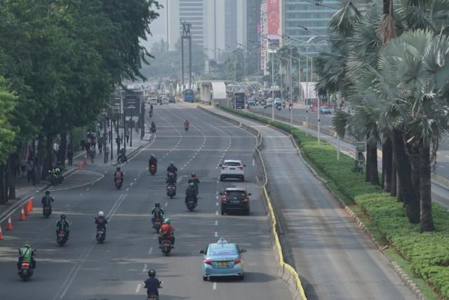 Jalan Sudirman-Thamrin Lengang, Natal