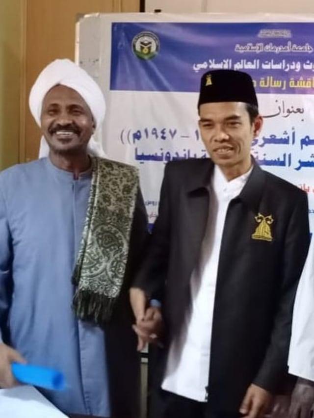 UAS Lulus Program Doktoral di Sudan dengan Predikat Cum Laude (69778)