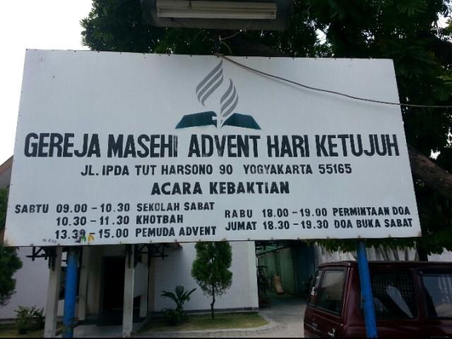 Tak Ada Perayaan Natal di Gereja Advent Timoho Yogyakarta (176575)