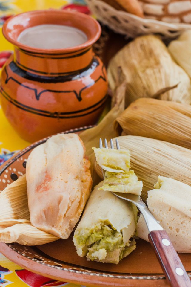 Tamale khas Meksiko