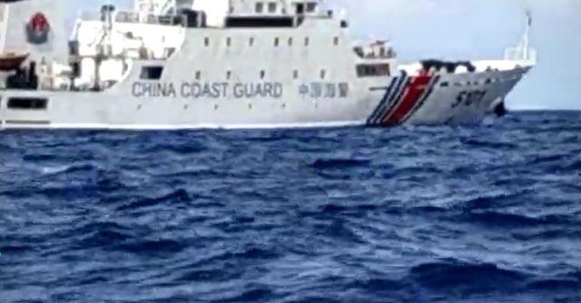 Kapal coast guard China di perairan Natuna, NOT COVER
