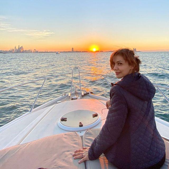 Gaya liburan Najwa Shihab di Dubai