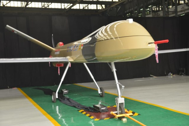 Prototype Drone Medium Buatan PTDI