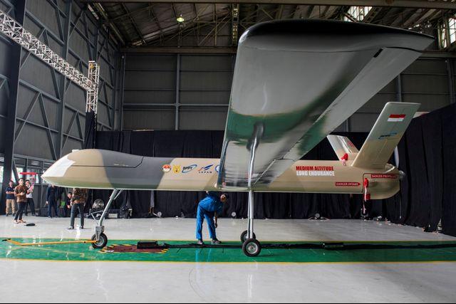 Prototype Drone Medium Buatan PTDI