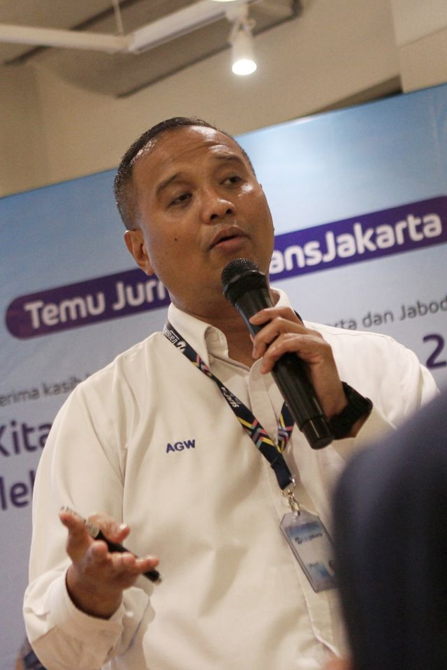 Rilis Akhir Tahun Transjakarta, POTRAIT