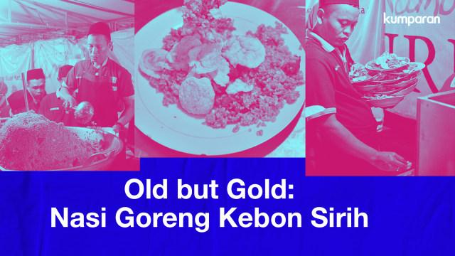 Old but Gold: Sepiring Nasi Goreng Kambing Kebon Sirih Penuh Memori (1241745)