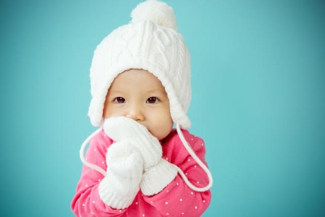Ilustrasi bayi kedinginan