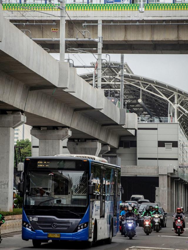 PTR, Ilustrasi Bus TransJakarta