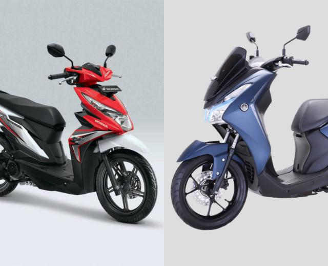 Komparasi Honda BeAT dan Yamaha Lexi